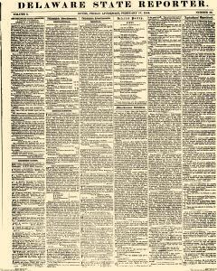 Delaware State Reporter, February 17, 1854, Page 1
