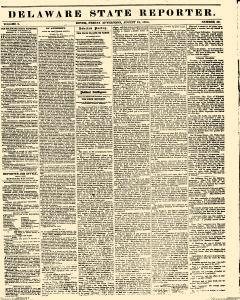 Delaware State Reporter, August 18, 1854, Page 1