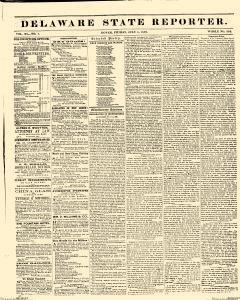 Delaware State Reporter, July 01, 1859, Page 1
