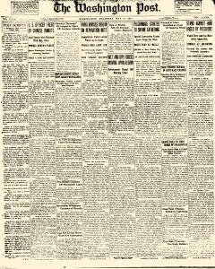 Washington Post, May 31, 1923, Page 1