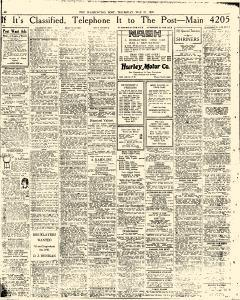 Washington Post, May 31, 1923, Page 22