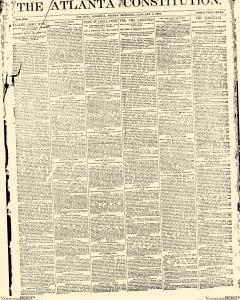 Atlanta Constitution, January 03, 1890, Page 1