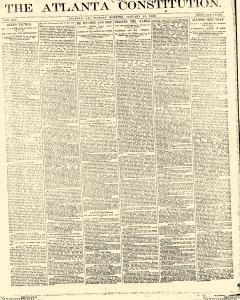 Atlanta Constitution, January 21, 1890, Page 1