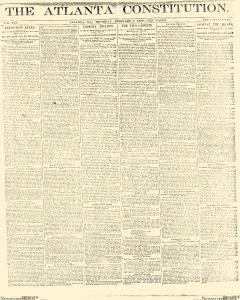 Atlanta Constitution, February 06, 1890, Page 1