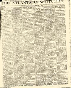 Atlanta Constitution, February 07, 1890, Page 1