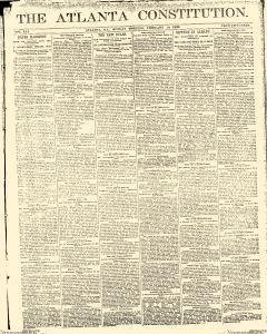Atlanta Constitution, February 10, 1890, Page 1