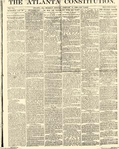 Atlanta Constitution, February 13, 1890, Page 1