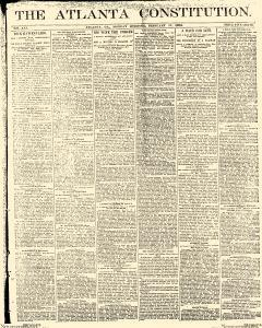 Atlanta Constitution, February 17, 1890, Page 1