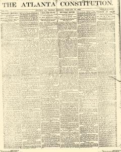 Atlanta Constitution, February 24, 1890, Page 1