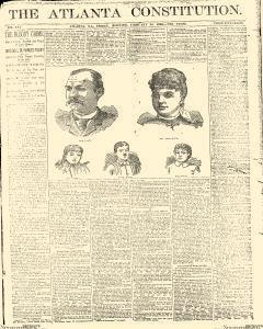Atlanta Constitution, February 28, 1890, Page 1