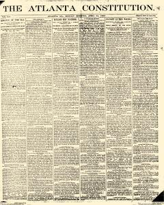 Atlanta Constitution, April 21, 1890, Page 1