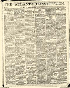 Atlanta Constitution, May 06, 1890, Page 1