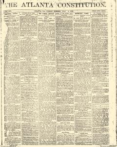 Atlanta Constitution, July 01, 1890, Page 1