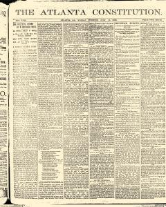 Atlanta Constitution, July 14, 1890, Page 1