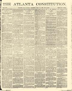 Atlanta Constitution, July 26, 1890, Page 1