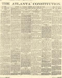 Atlanta Constitution, July 30, 1890, Page 1