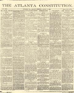 Atlanta Constitution, August 04, 1890, Page 1