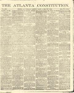Atlanta Constitution, August 06, 1890, Page 1