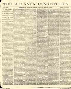 Atlanta Constitution, August 07, 1890, Page 1