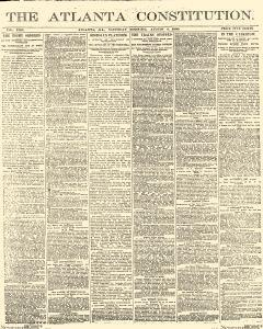 Atlanta Constitution, August 09, 1890, Page 1