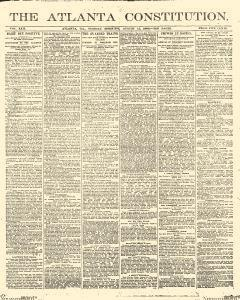 Atlanta Constitution, August 12, 1890, Page 1