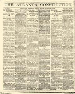 Atlanta Constitution, August 13, 1890, Page 1