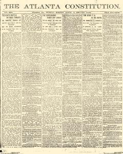 Atlanta Constitution, August 14, 1890, Page 1
