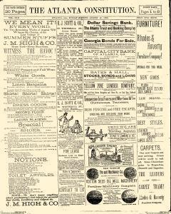 Atlanta Constitution, August 17, 1890, Page 1