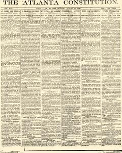 Atlanta Constitution, August 18, 1890, Page 1