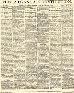 Atlanta Constitution, August 19, 1890, Page 1