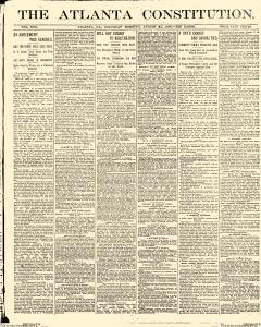 Atlanta Constitution, August 23, 1890, Page 1