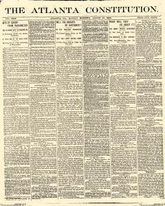 Atlanta Constitution, August 25, 1890, Page 1