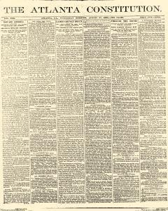 Atlanta Constitution, August 27, 1890, Page 1