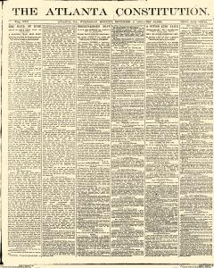 Atlanta Constitution, September 03, 1890, Page 1