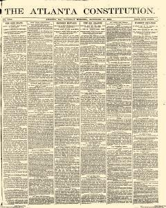Atlanta Constitution, September 13, 1890, Page 1