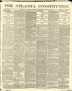 Atlanta Constitution, September 25, 1890, Page 1