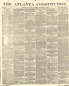 Atlanta Constitution, September 30, 1890, Page 1