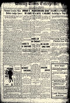 Thomasville Weekly Times Enterprise, May 13, 1910, Page 1