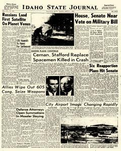 Idaho State Journal, March 01, 1966, Page 1
