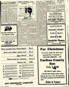 Caribou County Sun, December 09, 1965, Page 9