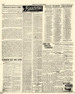 Twin Falls Daily Times, February 03, 1926, Page 4