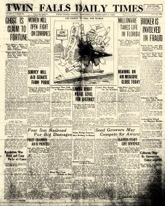 Twin Falls Daily Times, February 03, 1926, Page 1