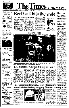 Twin Falls Times News, December 29, 2003, Page 1