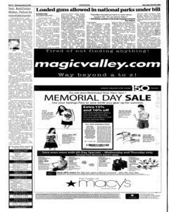 Twin Falls Times News, May 20, 2009, Page 12