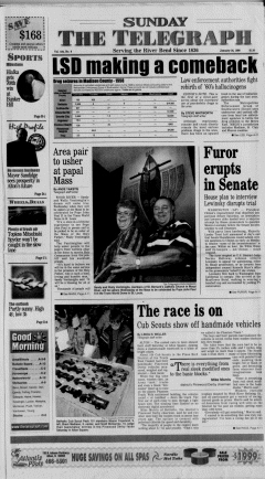 Alton Telegraph, January 24, 1999, Page 1