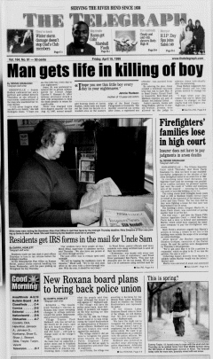 Alton Telegraph, April 16, 1999, Page 1