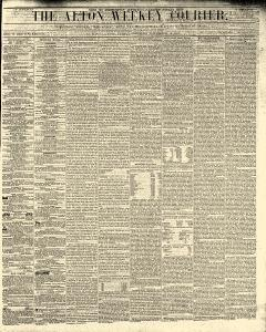 Alton Weekly Courier, November 19, 1852, Page 1