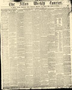 Alton Weekly Courier, November 05, 1857, Page 1