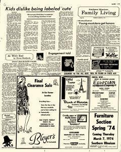 Southern Illinoisan, March 05, 1974, p. 6