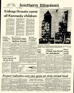 Southern Illinoisan, September 26, 1974, Page 1